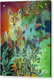 I Am The Forest Path Acrylic Print