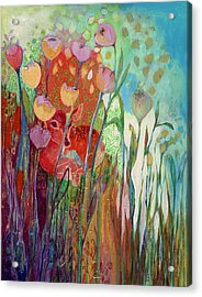 I Am The Grassy Meadow Acrylic Print by Jennifer Lommers