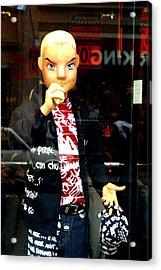 I Am The Man Acrylic Print by Jez C Self
