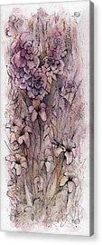 I Am The Rose Acrylic Print by Rachel Christine Nowicki