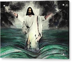 I Am Will Calm Your Sea Acrylic Print