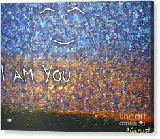 I Am You Acrylic Print by Piercarla Garusi
