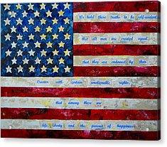 I Believe Acrylic Print by Patti Schermerhorn