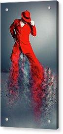 I Can Boogie Acrylic Print by Nichola Denny