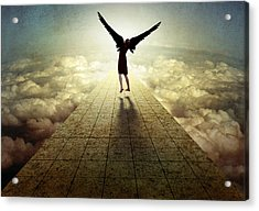 I Can Fly ... Acrylic Print by Ben Goossens
