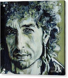 I Could Hold You For A Million Years. Bob Dylan Acrylic Print