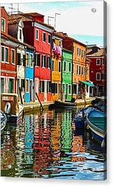 I Dream In Color Acrylic Print