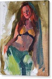 I Dream Of Genie Acrylic Print by Merle Keller