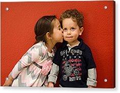 I Give You A Kiss Acrylic Print