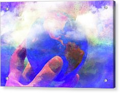 I Got The Whole World Acrylic Print by Jeff  Gettis