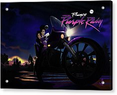 I Grew Up With Purplerain 2 Acrylic Print