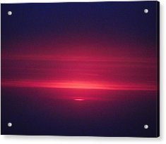 I Have Seen His Beauty In The Sunrise Acrylic Print