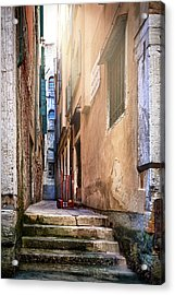 I Have Seen Your Trolley, Somewhere In Venice Acrylic Print