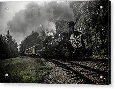 I Hear The Train A Comin' Acrylic Print