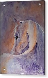 I Hear You - Painting Acrylic Print by Veronica Rickard
