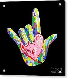 I Heart You Acrylic Print