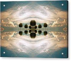 I Imagine The Paradise Acrylic Print by Renata Vogl