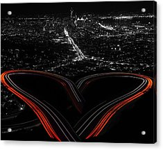 I Left My Heart In San Francisco Acrylic Print