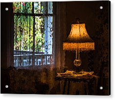 I Left The Light On For You Acrylic Print