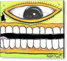 I Like 2 Smile Rs Acrylic Print by Robert Wolverton Jr