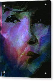 I Liked You Because You Were Kind. Acrylic Print by Michele Carter