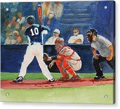 I Love Baseball Acrylic Print