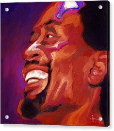 Acrylic Print featuring the painting I Love Bobby Mcferrin by Angela Treat Lyon