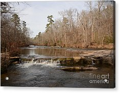 I Love To Go A Wanderin' Yellow River Park -georgia Acrylic Print