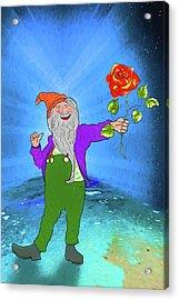 Acrylic Print featuring the digital art I Love You More by John Haldane