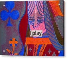 I Play Acrylic Print by Heinrich Haasbroek