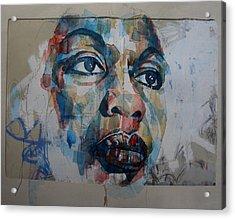 I Put A Spell On You - Nina Simone  Acrylic Print