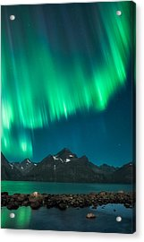 I See Fire Acrylic Print by Tor-Ivar Naess