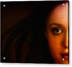 I See You Acrylic Print by Mark Denham