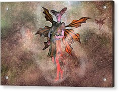 I See Your Fairy Dust And Raise You This Acrylic Print by Betsy Knapp