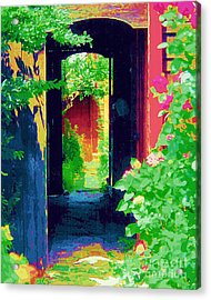 I Stand At The Door And Knock Acrylic Print