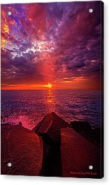 Acrylic Print featuring the photograph I Still Believe In What Could Be by Phil Koch