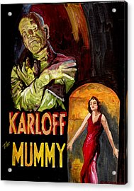 I Want My Mummy Acrylic Print