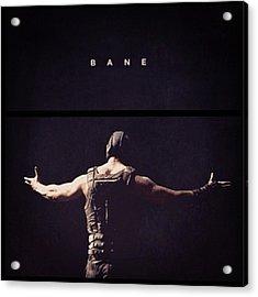I Want This Framed! #bane #batman Acrylic Print