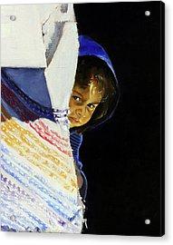 I Was A Stranger Acrylic Print by Gordon Bell
