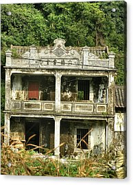 I Was Once Grand Acrylic Print by Kathy Daxon
