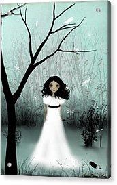 I Will Be Your Light Acrylic Print by Charlene Zatloukal