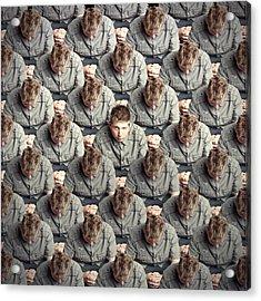 I Will Not Conform! Acrylic Print