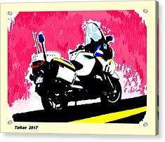 I Wish I Got This Bike By Taikan Acrylic Print