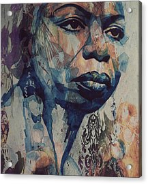 I Wish I Knew How It Would Be  Feel To Be Free Acrylic Print by Paul Lovering