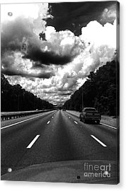 I95 Clouds Acrylic Print by WaLdEmAr BoRrErO