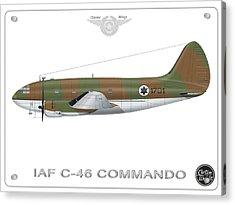 Iaf C-46 Commando Acrylic Print
