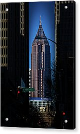 Ibm Tower Acrylic Print