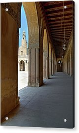 Ibn Tulun Great Mosque Acrylic Print by Nigel Fletcher-Jones