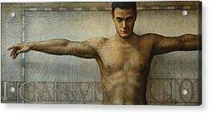 Icarus 4.0 Acrylic Print by Jose Luis Munoz Luque