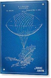 Icarus Airborn Patent Artwork Acrylic Print